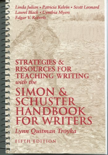 9780130816597: Simon & Schuster Handbook for Writers (Strategies & Resources for Teaching Writing) Fifth Edition