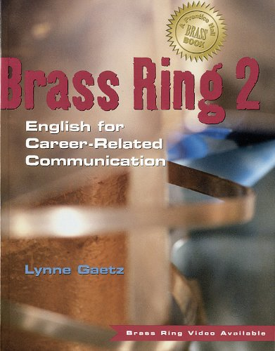 9780130818249: Brass ring 2: English for career-related communication