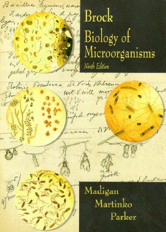 9780130819222: Biology of Microorganisms (Brock)