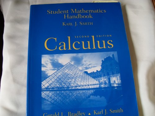 9780130819543: Student Math Handbook: Calculus