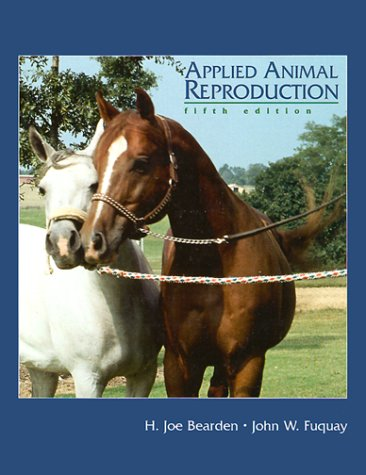 9780130819765: Applied Animal Reproduction (5th Edition)
