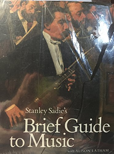 9780130821737: Stanley Sadie's Brief Guide to Music