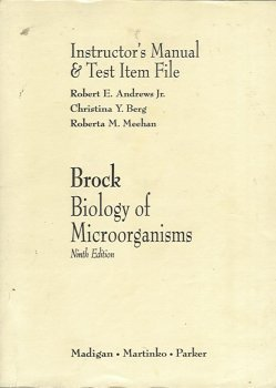 9780130821843: Brock: Biology of Microorganisms: Instructor's Manual & Test Item File