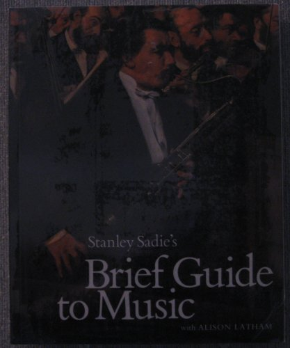 9780130822154: Stanley Sadie's Brief Guide to Music/Book and Cassette