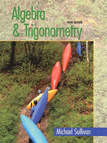 9780130825353: Algebra & Trigonometry