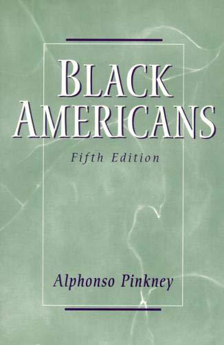 9780130825773: Black Americans (5th Edition)