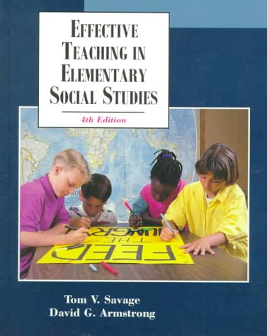 9780130826220: Effective Teaching in Elementary Social Studies (4th Edition)