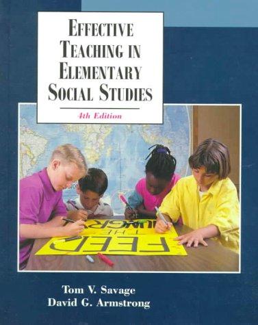 9780130826220: Effective Teaching in Elementary Social Studies