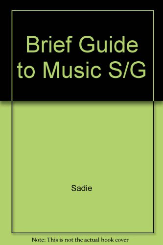 9780130827852: Brief Guide to Music S/G