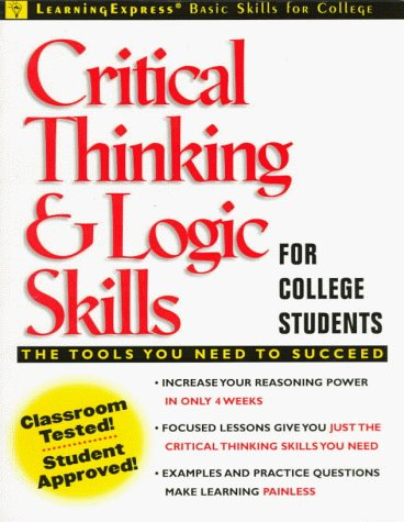 9780130828385: Critical Thinking and Logic Skills for College Students