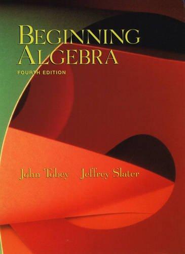 9780130828514: Beginning Algebra