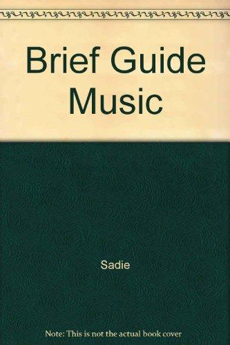 9780130829597: Brief Guide Music