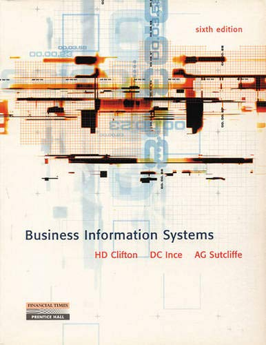 9780130829603: Business Information Systems
