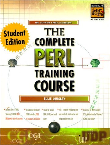 9780130830395: Complete Perl Training Course