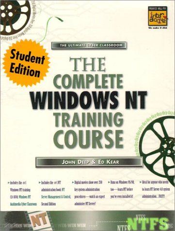 9780130830418: Complete Windows Nt Training Course