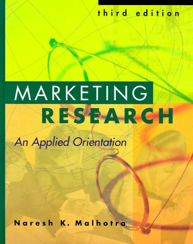 9780130830449: Marketing Research: An Applied Orientation