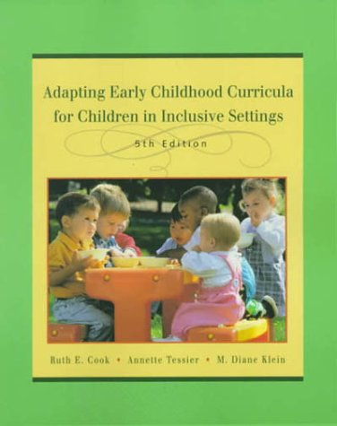 9780130832016: Adapting Early Childhood Curricula for Children in Inclusive Settings, Fifth Edition