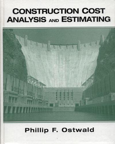 9780130832078: Construction Cost Analysis and Estimating