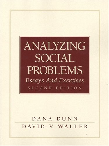 social problem analysis essay What is a social problem essayswhat is a social problem use two examples of social problems to illustrate your answer social problems are an integral part of social.