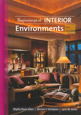 9780130832900: Beginnings of Interior Environment (8th Edition)