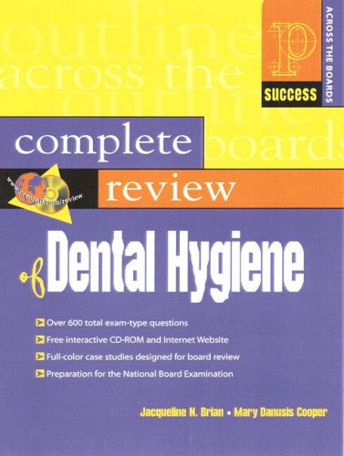 9780130833280: Prentice Hall Health's Complete Review of Dental Hygiene (Prentice Hall International Series in Civil Engineering and)