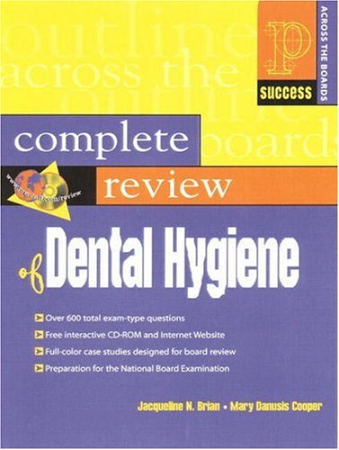 9780130833280: Prentice Hall Health's Complete Review of Dental Hygiene