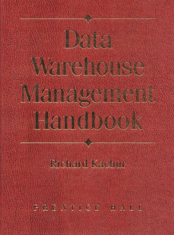 9780130833464: Data Warehouse Management Handbook