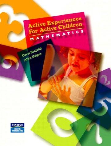 9780130834348: Active Experiences for Active Children: Mathematics