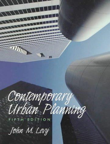 9780130835741: Contemporary Urban Planning (5th Edition)