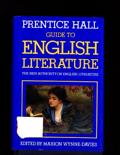 The Prentice Hall Guide to English Literature: Wynne-Davies, Marion