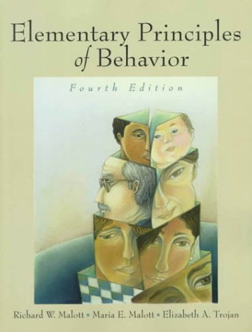 9780130837066: Elementary Principles of Behavior (4th Edition)