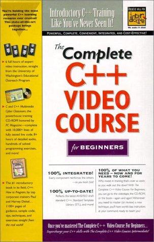 The Complete C++ Video Course for Beginners (0130837393) by Deitel, Harvey; Deitel, Paul; Washington, University of; Deitel,Paul