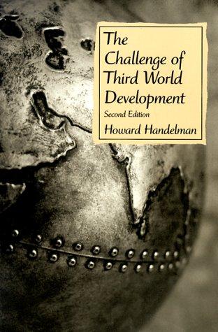 9780130837578: The Challenge of Third World Development