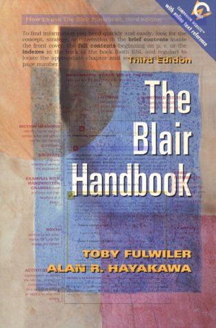9780130838391: Blair Handbook, The