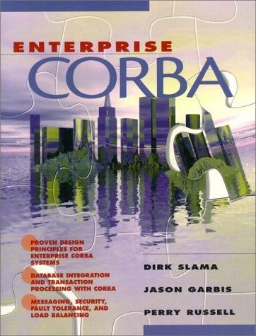 9780130839633: Enterprise Corba