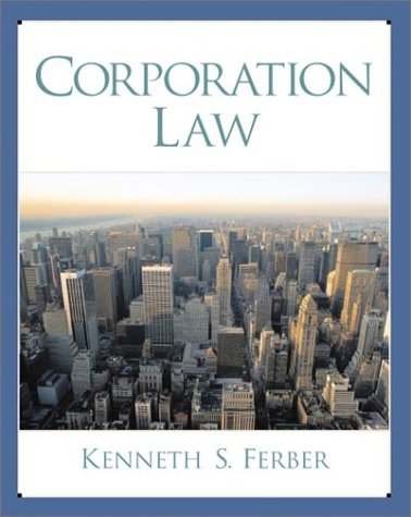 9780130840172: Corporation Law