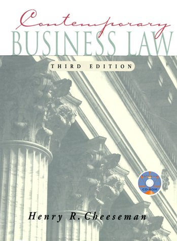 9780130840516: Contemporary Business Law (3rd Edition)