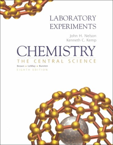 9780130841018: Chemistry: The Central Science - Laboratory Experiments