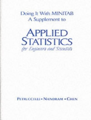 9780130841087: Applied Statistics for Scientists and Engineers
