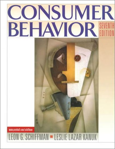 Consumer behavior by leon schiffman abebooks consumer behavior schiffman leon fandeluxe Image collections