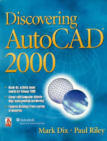 9780130842640: Discovering AutoCAD 2000