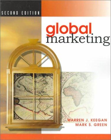 9780130842688: Global Marketing (2nd Edition)