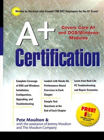 9780130843166: A+ Certification Guide