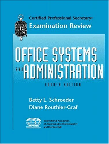 9780130843241: CPS Examination Review for Office Systems and Administration (4th Edition)