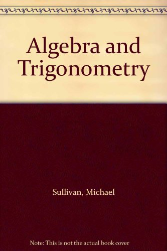 9780130843470: Algebra and Trigonometry