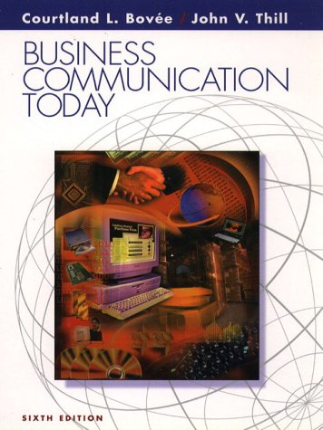 9780130845139: Business Communication Today (6th Edition)