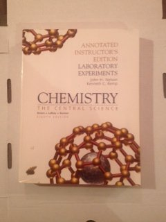 9780130845160: Chemistry: The Central Science: Laboratory Experiments