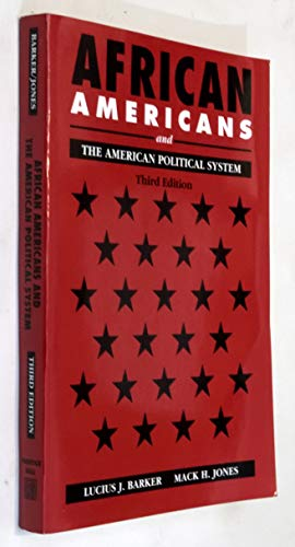 9780130845757: African Americans and the American Political System