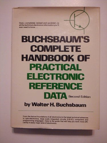 9780130846242: Complete Handbook of Practical Electronic Reference Data