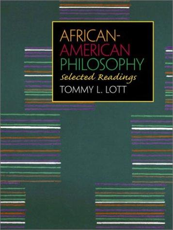 9780130846969: African American Philosophy